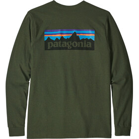 Patagonia P-6 Logo Responsibili - T-shirt manches longues Homme - olive
